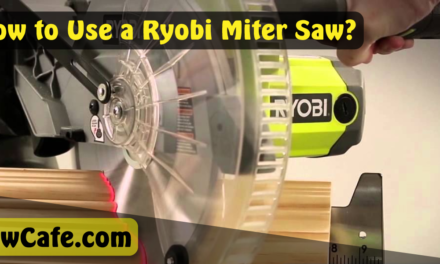 How to Use a Ryobi Miter Saw?