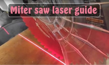 MITER SAW LASER GUIDE – LED LASER Light Shadow Line