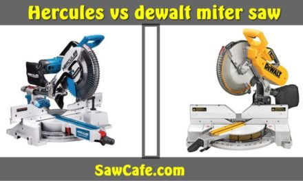 HERCULES VS DEWALT MITER SAW