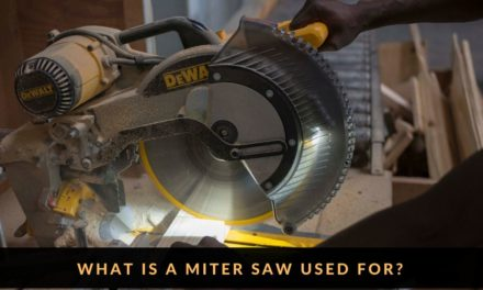 What is a Miter Saw Used for – Miter Saw Projects Idea