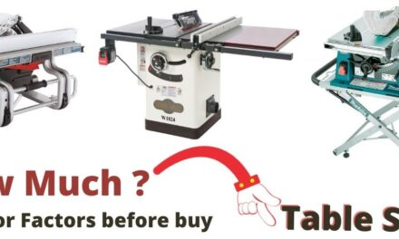 How Much is A Table Saw – Latest Price of Table Saws