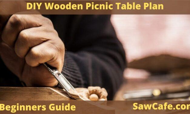 DIY Wooden Picnic Table Plan – Fantastic & Super Easy Idea