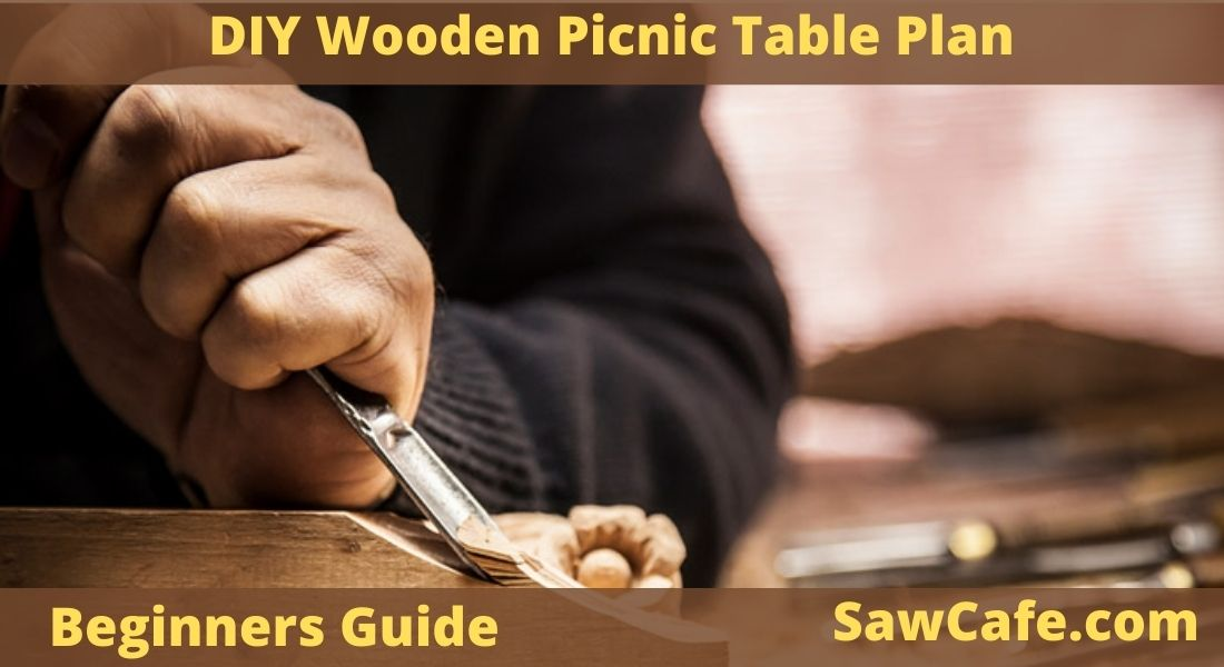 DIY Wooden Picnic Table