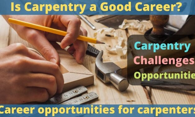 Is Carpentry a Good Career – Challenges and Opportunities